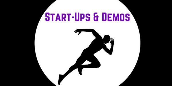 Start-Ups & Demos Banner
